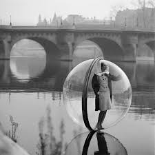Girl in the bubble