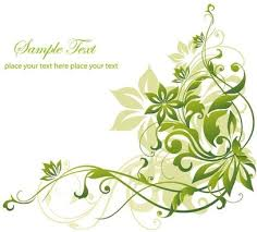 abstract green white background free
