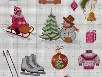 900+ Vyšívka vánoce ideas | výšivka, vánoce, křížkový steh