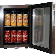 Mini glass door bar fridge all stainless steel with lock and small glass  door mini all