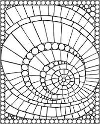 Small Picture Free Mosaic Patterns to Print Mosaic Mosaic Pattern Coloring