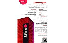 call for papers international conference on connectivity in asia trade transport logistics and business 24 26 june 2018 in vietnam