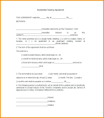 Basic Renters Application Template Rental Form Agreement