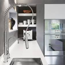 Stainless Steel Faucets Kitchen Exquisite Kitchen Faucets Merge Italian Design With Elegant Aesthetics