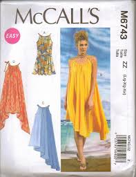 Summer Dress Patterns Cool New McCalls Sewing Pattern Summer Dress Misses Size Your Choice EBay