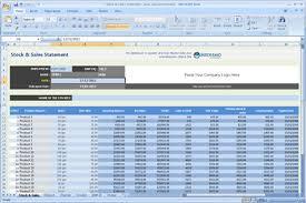 Stockist Distributor Stock Sales Statement Format In Excel Xlsx
