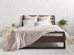 gallery images of the linen duvet cover for relaxed bedding