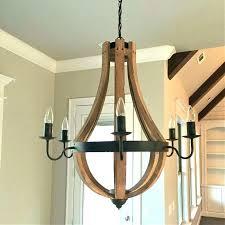 creative co op wood bead chandelier creative co op lighting creative co op chandeliers creative co
