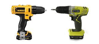Dewalt Battery Comparison Chart Ryobi Vs Dewalt How Do Their Drills Compare Prudent Reviews
