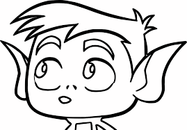 Small Picture Pie Bros Teen Titans Go Robin Beast Boy Coloring Page Wecoloringpage