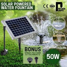 50w solar powered water fountain pump sfp series by protege
