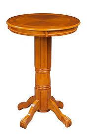 boraam 71142 florence pub table 42 inch oak