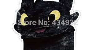 <b>Min</b>.<b>order is $10</b>(mix order)Toothless waterproof suitcase stickers ...