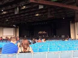 Starplex Pavilion Section 201 Row Tt