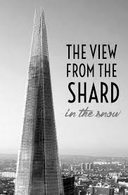 the view from the shard in the london snow on the luce travel