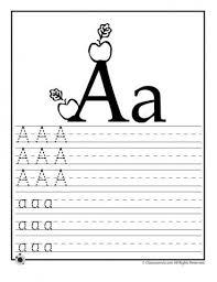learning abc u0027s worksheets