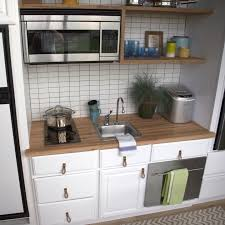 Photo Gallery of The Kitchenettes For Small Spaces Image