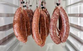 40 50mm casings a mix of chorizo and salami