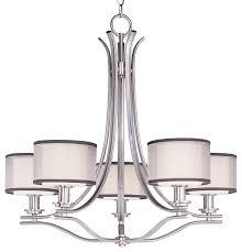 drum light chandelier. Maxim Orion Five Light Satin Nickel White Glass Drum Shade Chandelier A
