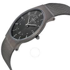 skagen titanium stainless steel mesh men s watch 233xlttm skagen titanium stainless steel mesh men s watch 233xlttm
