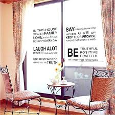 english wall decor love family sentence wall stickers art cor mural room english class wall decoration