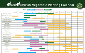 Planting Calendar Vegetable Planting Calendar David Domoney