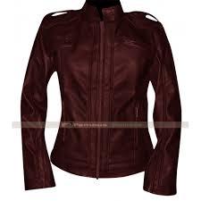 chicago pd sophia bush maroon leather jacket 700x700 jpg