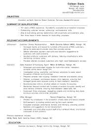 Sample Resumes For Customer Service Resume Template Directory