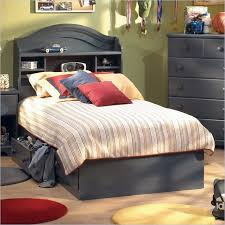 South Shore Summer Breeze Twin Captain's Bed Frame Only in Antique ...