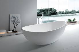 Bathtubs Idea, Bathtubs Cheap Soaking Tubs Sophisticated White Oval  Freestanding Tub With Flat Chrome Faucet