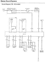 honda wiring diagrams civic free and 99 diagram gansoukin me 2008 honda civic radio wiring diagram at 2007 Honda Civic Si Radio Wiring Diagram