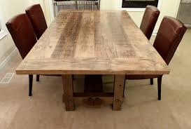 dining room tables reclaimed wood. Reclaimed Wood Trestle Table Tables For Sale Dining Room