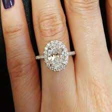 best 25 oval halo engagement ring ideas