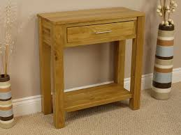 oak hall tables. Oakland Oak Console Table With Shelf / Solid 1 Drawer Hall Brand New Tables