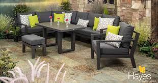 synthetic rattan garden furniture