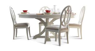 oval back dining chair. Round Table And 4 Oval Back Dining Chairs In Sea Salt Chair