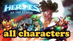 HEROES OF THE STORM ALL CHARACTERS ...