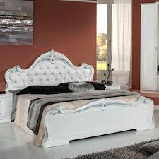 italian white furniture. Emily - Classic Italian Bedroom Set White \u0026 Silver | On Sale Furniture