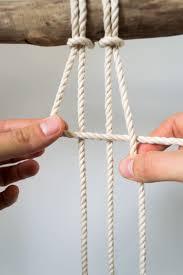Rope Knot Light Pull Pattern Macrame Plant Hanger Mangoandmore