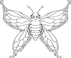 Printable Coloring Pages Of Butterflies Butterflies Coloring Pages