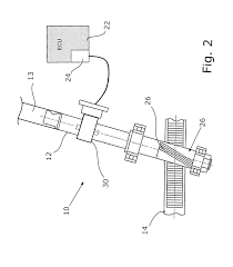 mechanical electrical large size component quarter bridge strain gauge patent us20160186195 us8020661 steering system with
