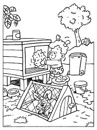Kleurplaat Pasen Printables Huisdier Knutselen Knutselen