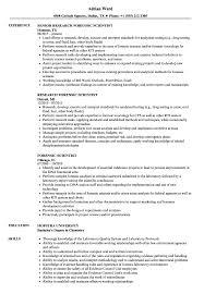Forensic Officer Sample Resume Forensic Scientist Resume Samples Velvet Jobs 14