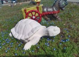 unpainted ceramic turtle outdoor garden statue ceramic turtle garden turtle turtle decor patio decor tortoise outdoor