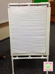 Cheap Chart Paper For Teachers Diy Easel For Your Classroom The Owl Teacher