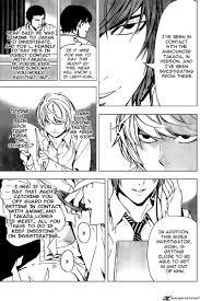 Light X Takada Death Note Chapter 89 Death Note Manga Online