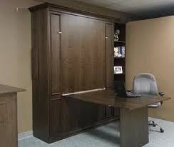 murphy bed desk folds. Walnut Murphy Bed With A Folding Desk. Shown Down. Desk Folds