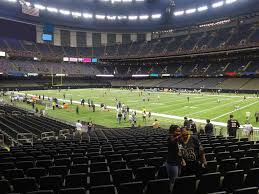 Mercedes Benz Superdome Seating Chart With Rows Mercedes Benz Superdome View From Plaza Level 107 Vivid Seats