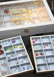Jewelry Organizer Diy Diy Jewelry Organizer Storage Box Tutorial Consumer Crafts