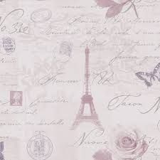 Paris Wallpaper For Bedroom Paris Heather Silver Calligraphy Wallpaper The Ojays